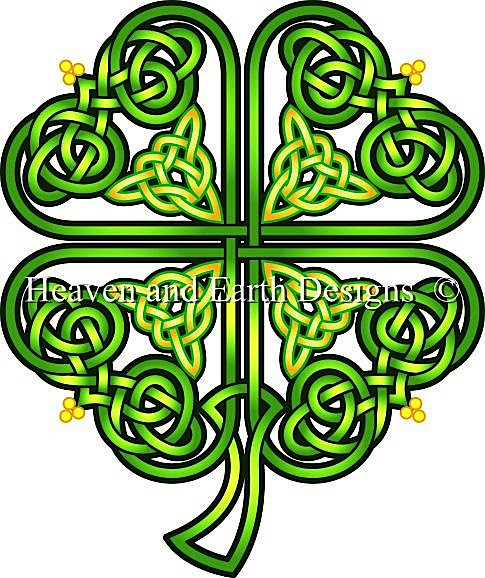 click here to view larger image of Brigids Shamrock (chart)