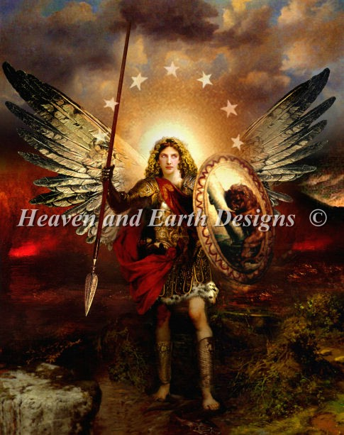 click here to view larger image of Archangel Michael, The (chart)