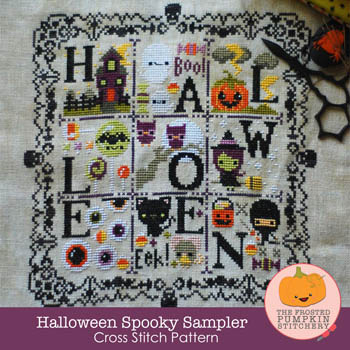 click here to view larger image of Halloween Spooky Sampler (chart)