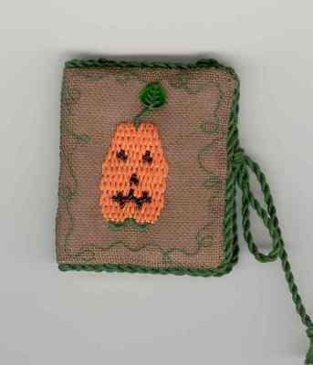 click here to view larger image of Boo Y'all Needle Book (counted cross stitch kit)