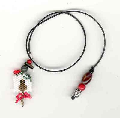 click here to view larger image of Christmas Stories Bookmark (bead kit)