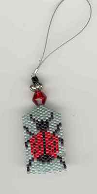 click here to view larger image of Don't Bug Me Fone Fob (bead kit)
