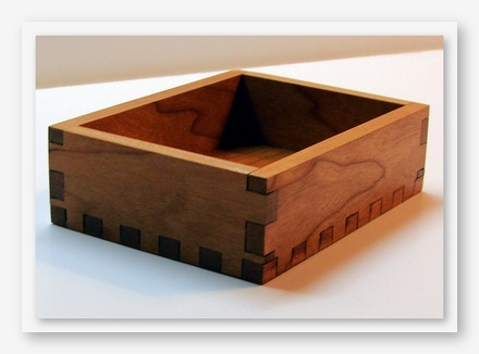 click here to view larger image of Dovetailed Box for Stitchers Dozen Pin Cushion (accessory)