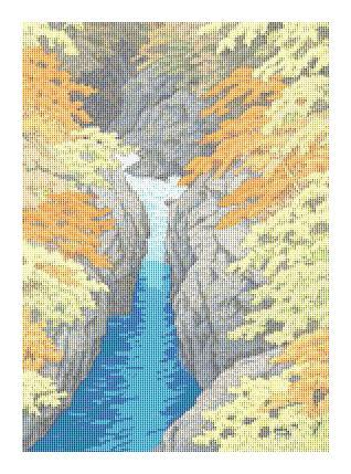 click here to view larger image of Autumn by Kawase Hasui (chart)