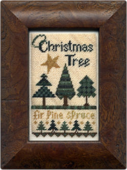 click here to view larger image of O Christmas Tree (chart with charms/buttons)