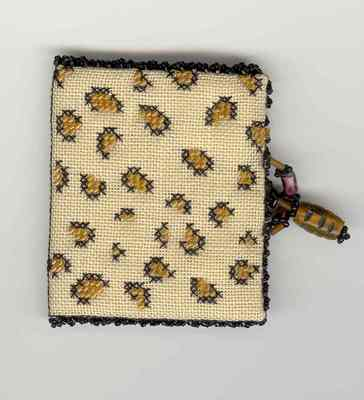 click here to view larger image of L is for Leopard Needle Book (counted cross stitch kit)