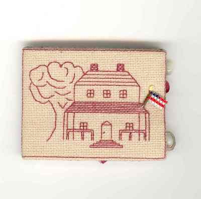 click here to view larger image of Strong and Free Needle Case (counted cross stitch kit)