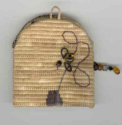 click here to view larger image of The Buzzzzz Sewing Case (counted cross stitch kit)