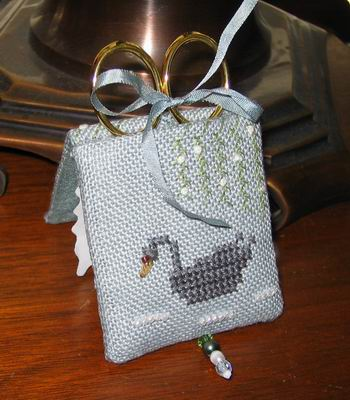 click here to view larger image of Under the Willow Needle Case (counted cross stitch kit)