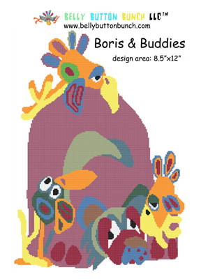 click here to view larger image of Boris and Buddies (chart)