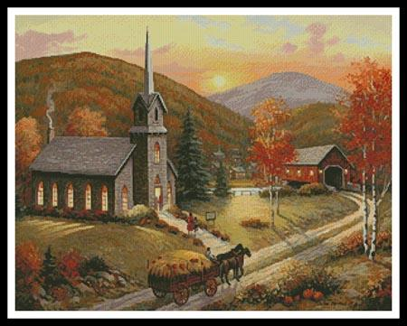 click here to view larger image of Autumn in Vermont  (John Zaccheo) (chart)