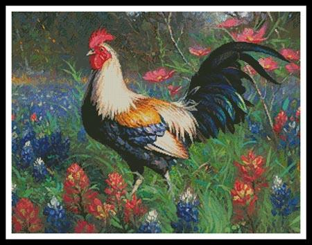 click here to view larger image of Colourful Rooster 2 (chart)