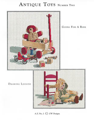 click here to view larger image of Antique Toys 2 (chart)
