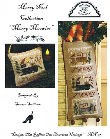 click here to view larger image of Merry Meowies - Merry Noel Collection (chart)