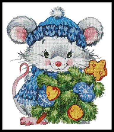 click here to view larger image of Christmas Mouse (chart)