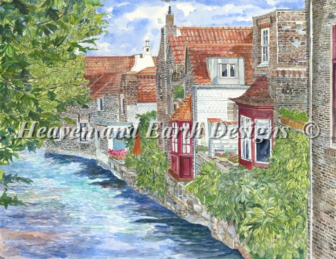 click here to view larger image of Beautiful Brugges (chart)