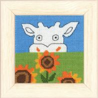 click here to view larger image of Cow (counted cross stitch kit)