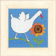 click here to view larger image of Goose (counted cross stitch kit)