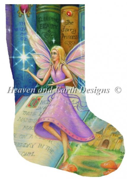 click here to view larger image of Library Fairy Stocking 5 (chart)