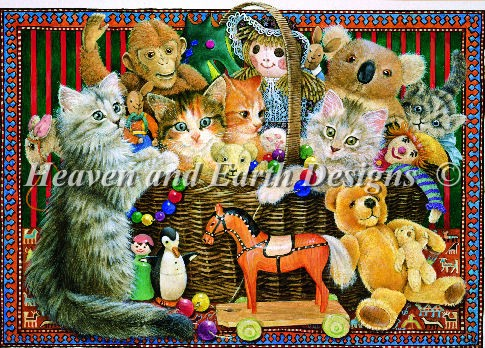 click here to view larger image of Cats in the Toy Box (chart)