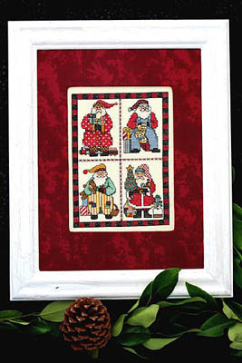 click here to view larger image of Scrapbook Santa (chart)