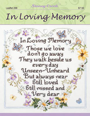 click here to view larger image of In Loving Memory (chart)