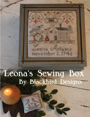 Leonas Sewing Box - click here for more details about chart
