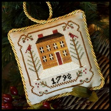 Old Colonial - Sampler Tree Ornament Series 1 - click here for more details about chart