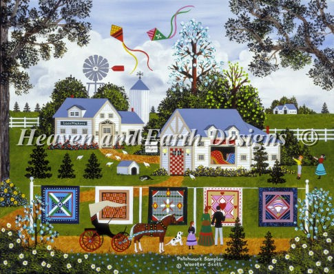 click here to view larger image of Patchwork Sampler (chart)
