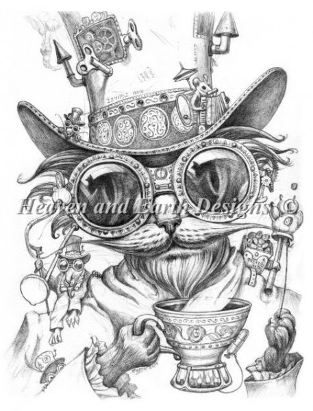 click here to view larger image of Steam Punk Cat Daddy (chart)