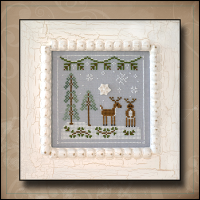 click here to view larger image of Snowy Reindeer - Frosty Forest Series #8 (chart)
