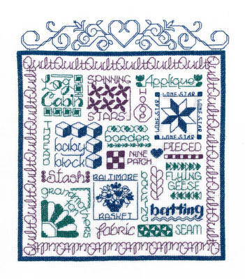 click here to view larger image of Lets Quilt (chart)