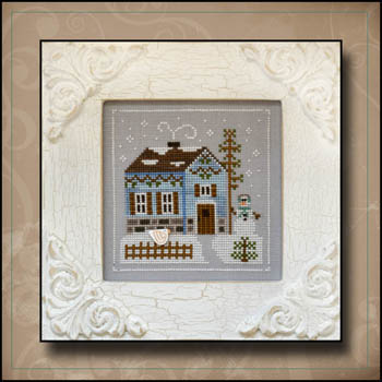 click here to view larger image of Snowgirl's Cottage - Frosty Forest Series #7 (chart)
