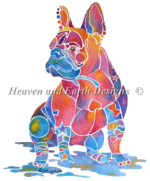 click here to view larger image of French Bulldog (chart)