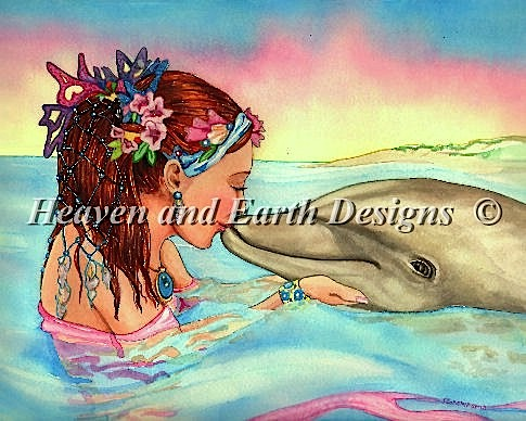 click here to view larger image of Dolphin Kiss (chart)