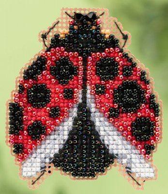 click here to view larger image of Ladybug Hug - Spring Bouquet collection (counted cross stitch kit)