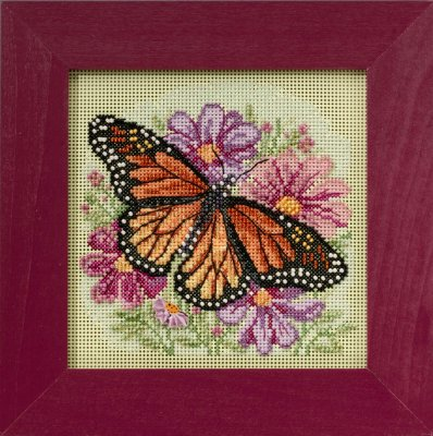 click here to view larger image of Winged Monarch (counted cross stitch kit)