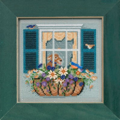 click here to view larger image of Window Box (counted cross stitch kit)