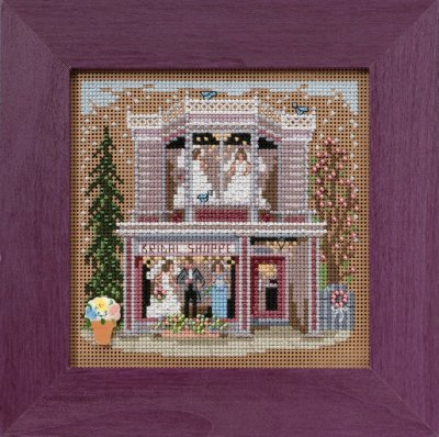 click here to view larger image of Bridal Shoppe (counted cross stitch kit)