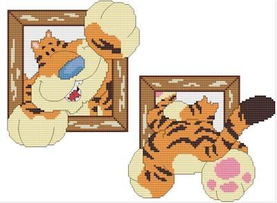 click here to view larger image of Hi There Tiger! (chart)