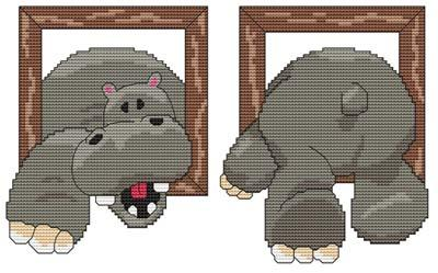 click here to view larger image of Hi There Hippo! (chart)