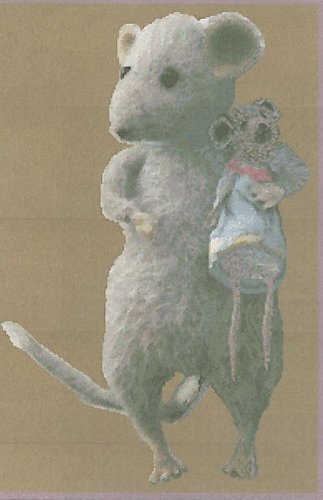 click here to view larger image of Little Grey Mouse and Friend (chart)