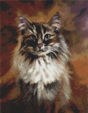 click here to view larger image of Cat Portrait (chart)