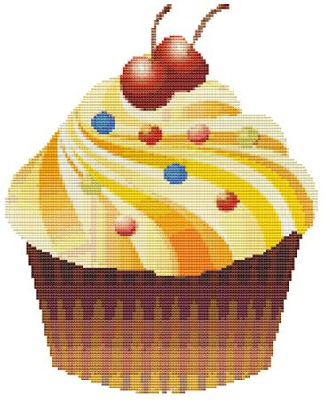 click here to view larger image of Big Cupcake (chart)