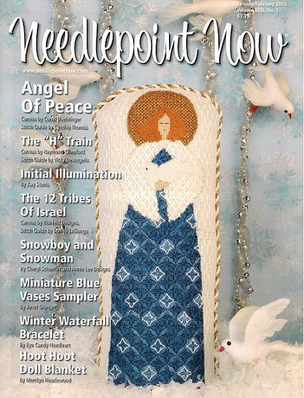 click here to view larger image of Needlepoint Now January/February 2015 (magazines)