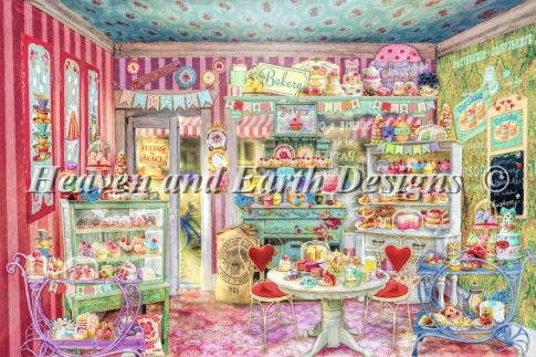 click here to view larger image of Mini The Little Cake Shop (chart)