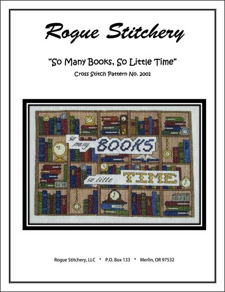 click here to view larger image of So Many Books So Little Time (chart)