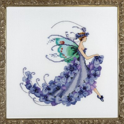 Wisteria - Pixie Blossom Collection - click here for more details about chart