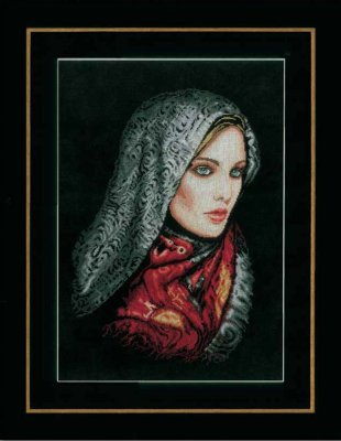 click here to view larger image of Women in Veil (counted cross stitch kit)