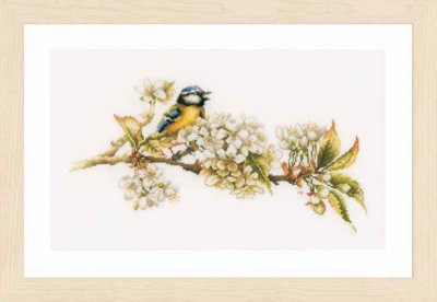 click here to view larger image of Blue Tit (27ct) (counted cross stitch kit)